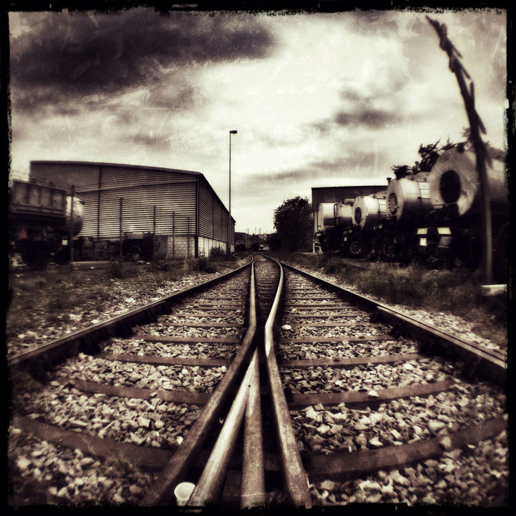 railway by Spider