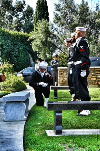 Picking up shells honor the dead Enjoying Life Military San Diego Ca Veterans To Remember Military Funeral