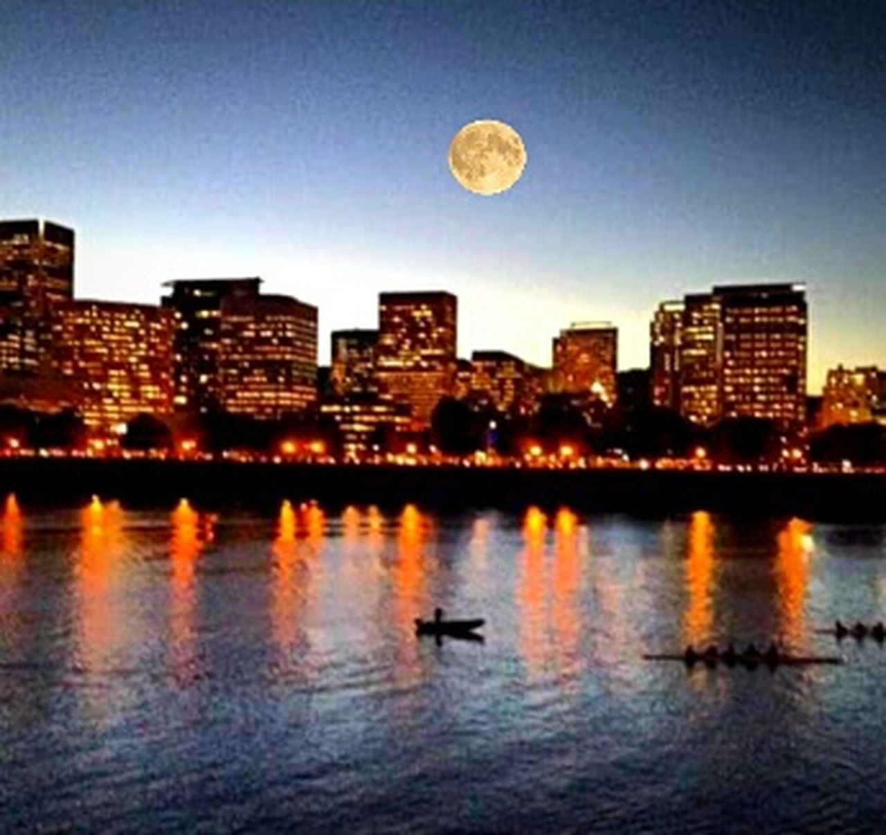 Moon Reflection Building Exterior City Skyscraper Architecture Cityscape Illuminated Urban Skyline Sunset Collection VariousColors Getting Inspired Showcase JuneCity Life Sunset Cityscape Cellphone Photography Creative Photography Eyeem Market Getty Images Portland Oregon Ptown Represent!!! Capture The Moment. Built Structure Glowing