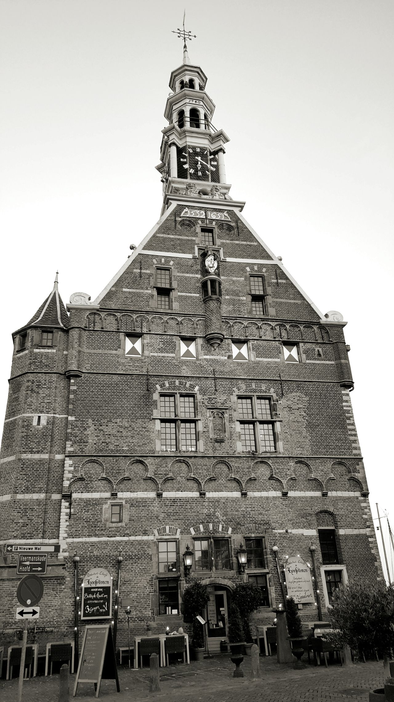 Architecture Building Exterior Built Structure Travel Destinations History Outdoors Amazing Architecture Architectural Detail Dutch House Old Buildings Old Town Architecture_collection Beautiful Hoorn Hoorn, Netherlands Netherlands Taking Pictures Taking Photos Black And White Blackandwhite City Exploring New Ground Dutch Architecture Dutch Cities Windows