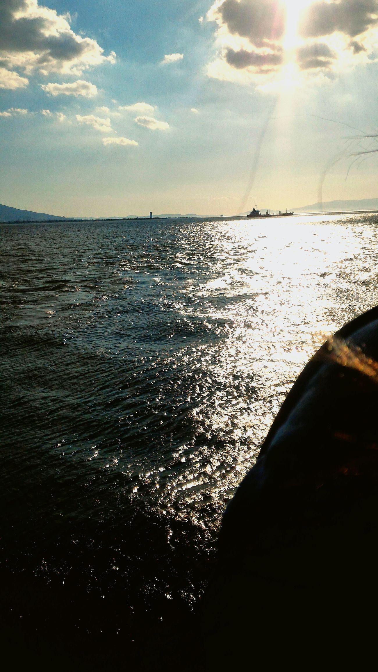 ızmir ❤ Happiness ♡ First Eyeem Photo Sunny Eyeemphotography Sea EyeEm Gallery ı Love My City How's The Weather Today? Hello World ✌