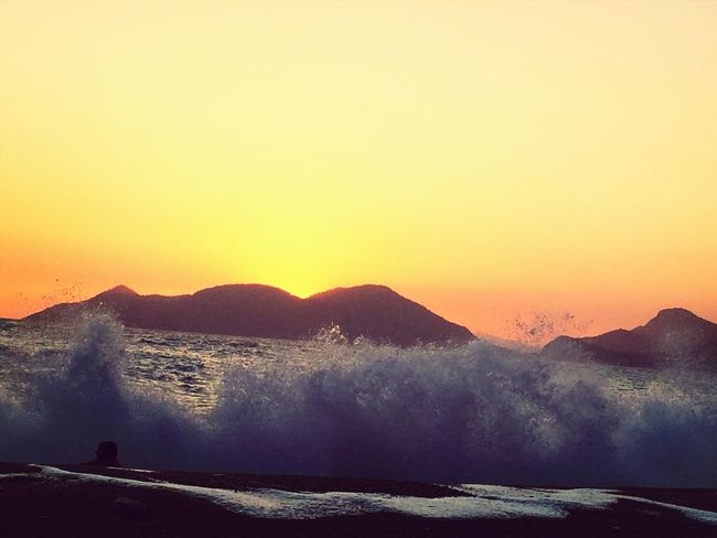 Sunset Sea Fantasti View