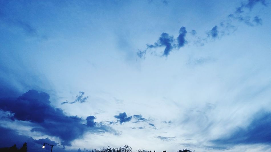 Cloud - Sky Sky Dramatic Sky Nature Silhouette Outdoors Blue No People Beauty In Nature Day Tree Storm Cloud Fog Scenics Mountain Thunderstorm Astronomy