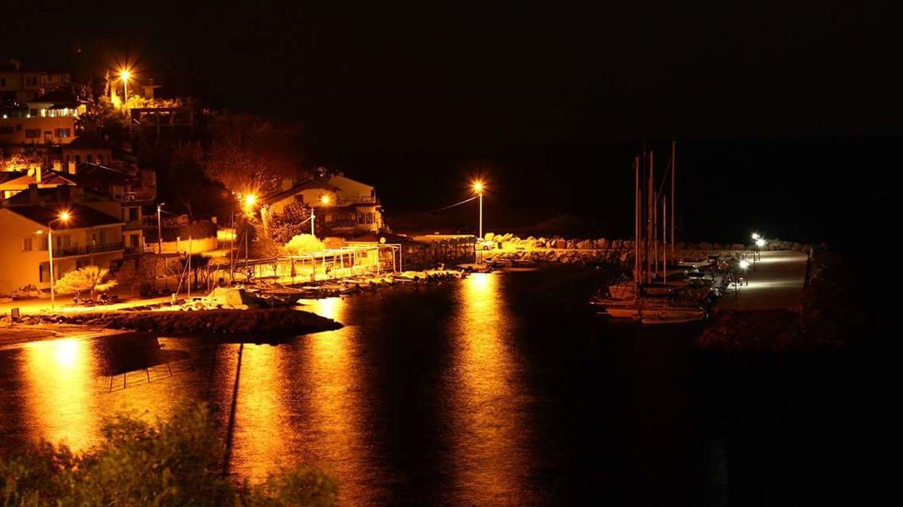 Night Reflection Illuminated Water City Sky Outdoors No People Kumyaka Sea Marine Life EyeEm Nature Lover