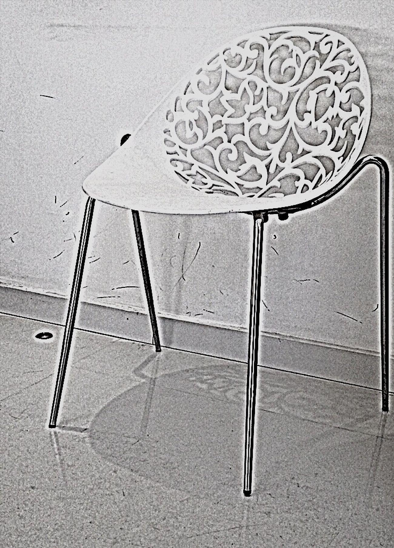 Chair Interior Design Minimalism Black And White