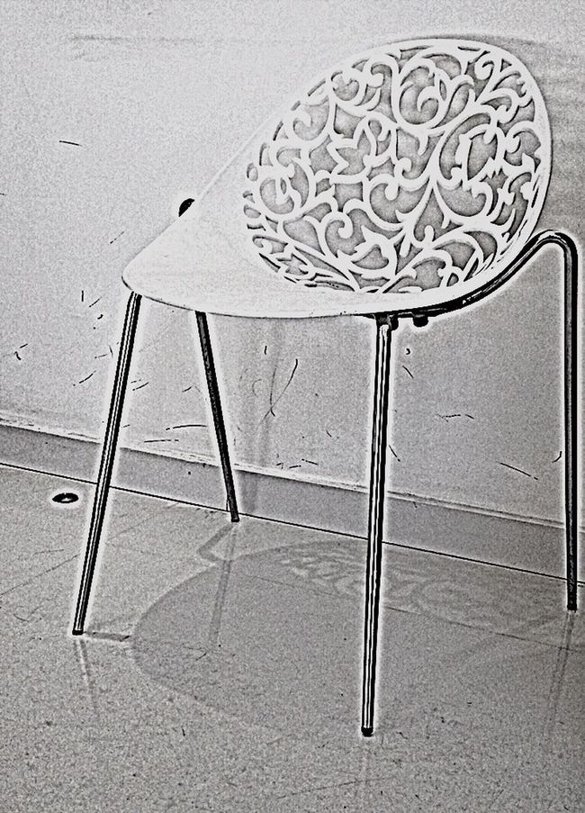 Chair Interior Design Minimalism Black And White