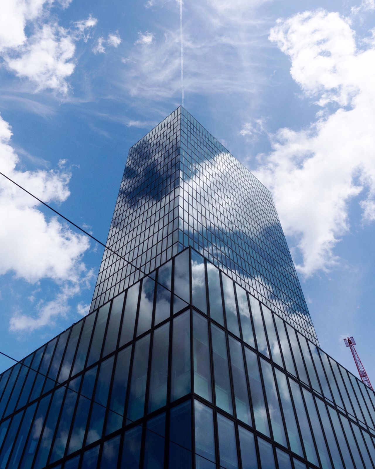 Architecture Built Structure Low Angle View Modern Building Exterior Sky Cloud - Sky Day Reflection Skyscraper No People Outdoors City The Architect - 2017 EyeEm Awards at Basel