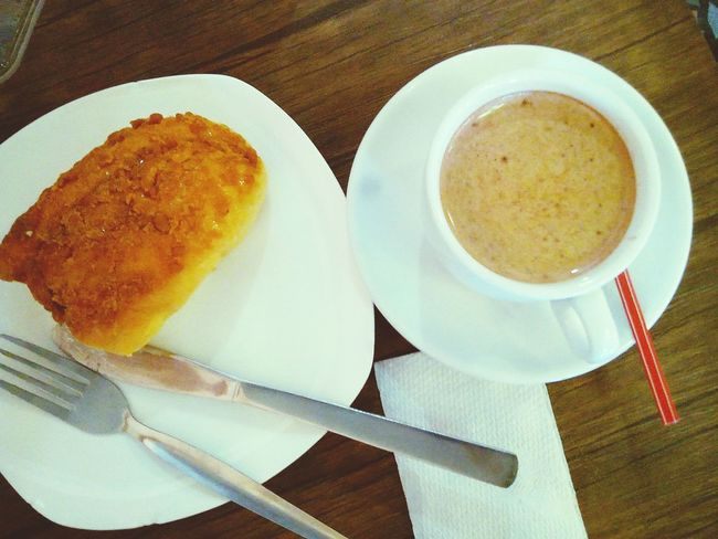 A day with a happu start pastries Good Morning Studying Meeting Friends