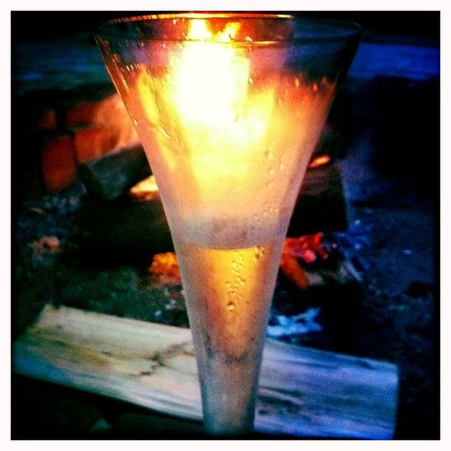Fire and Bubbles... Hipstamatic Johns Blanko