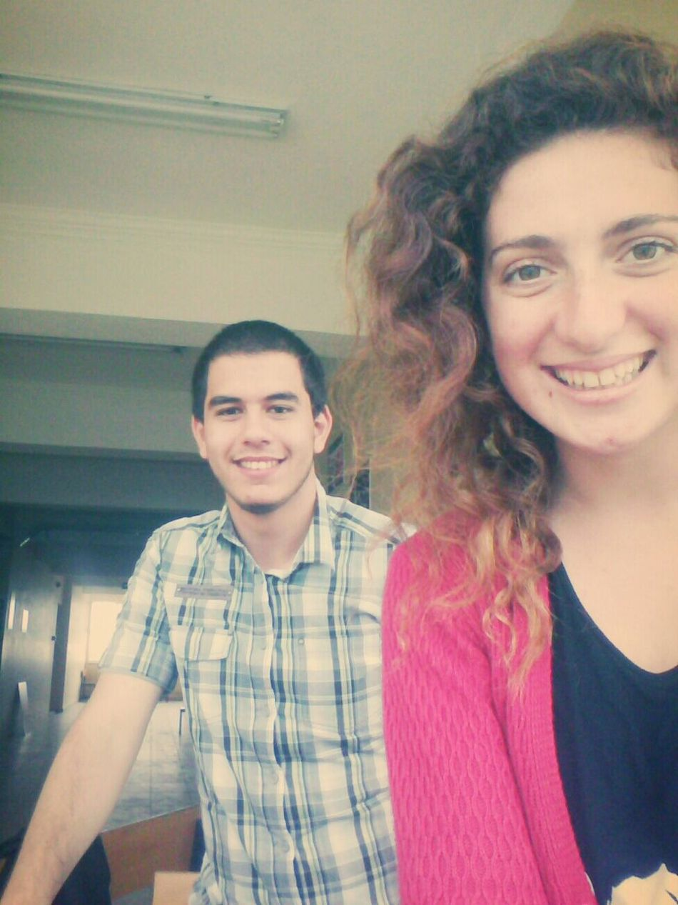 Happy :) Friends At School :)