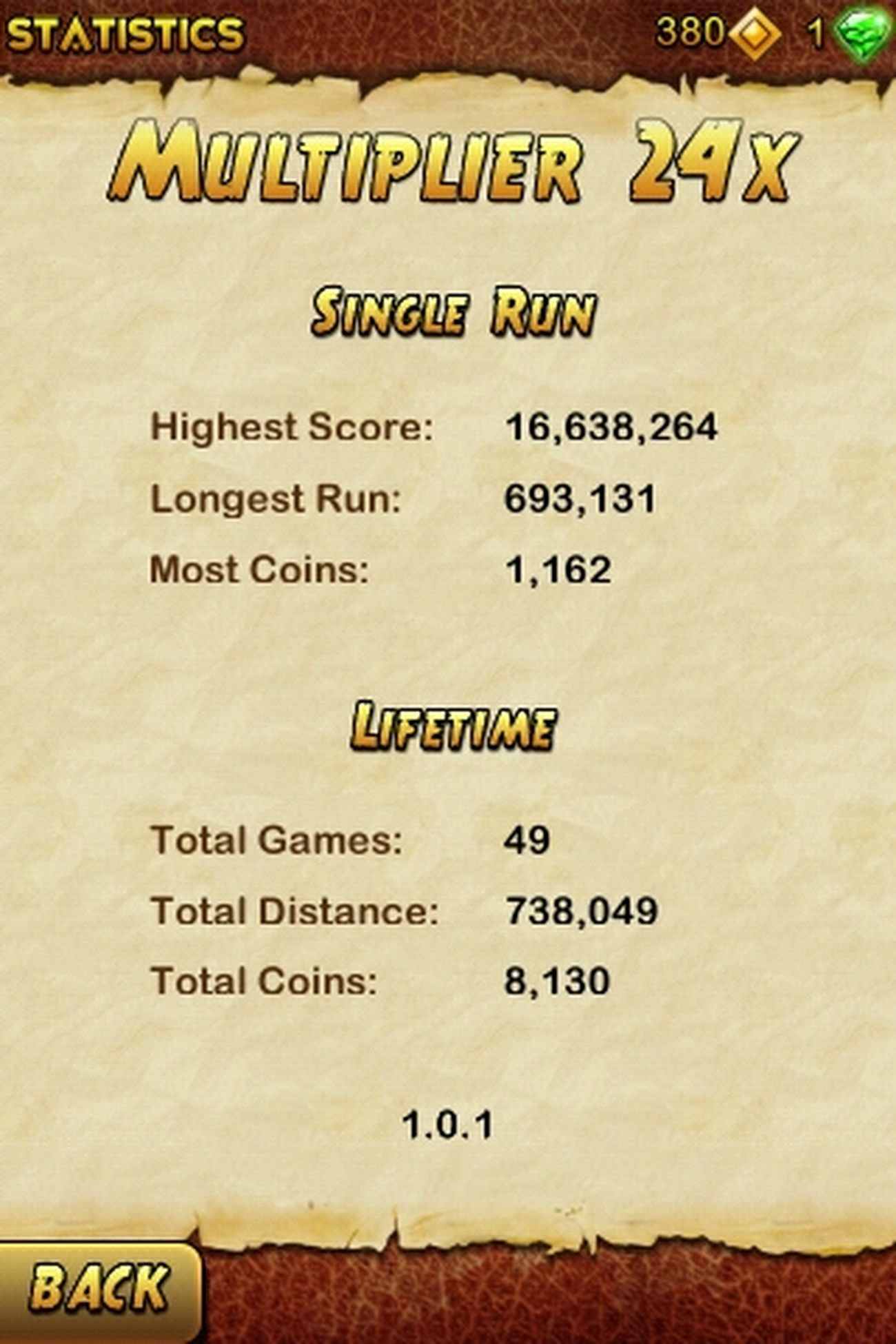 Im Da Best In Temple Run