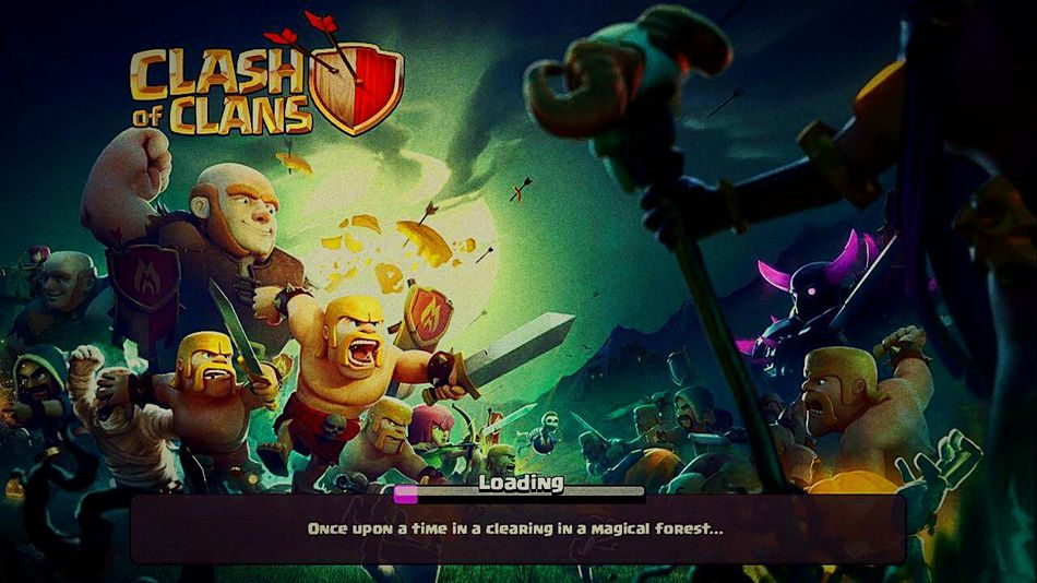 Playing COC