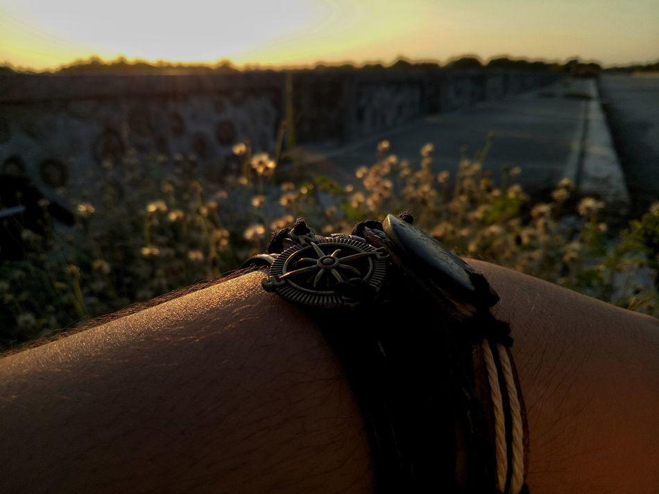 Bracelet Sunset Silhouette Photography