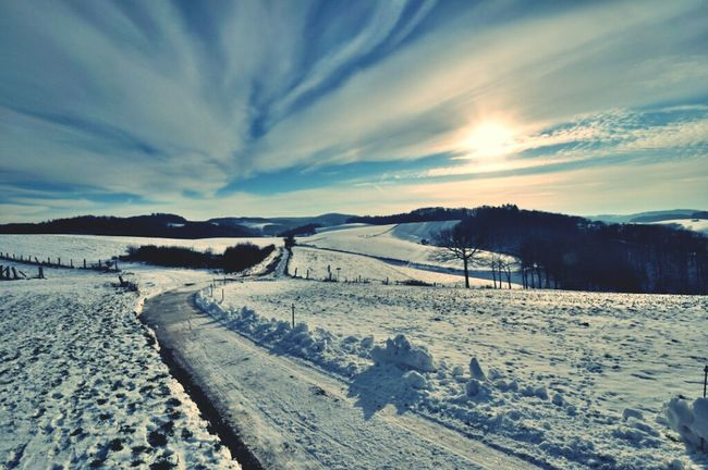 Landscape Snow Schnee