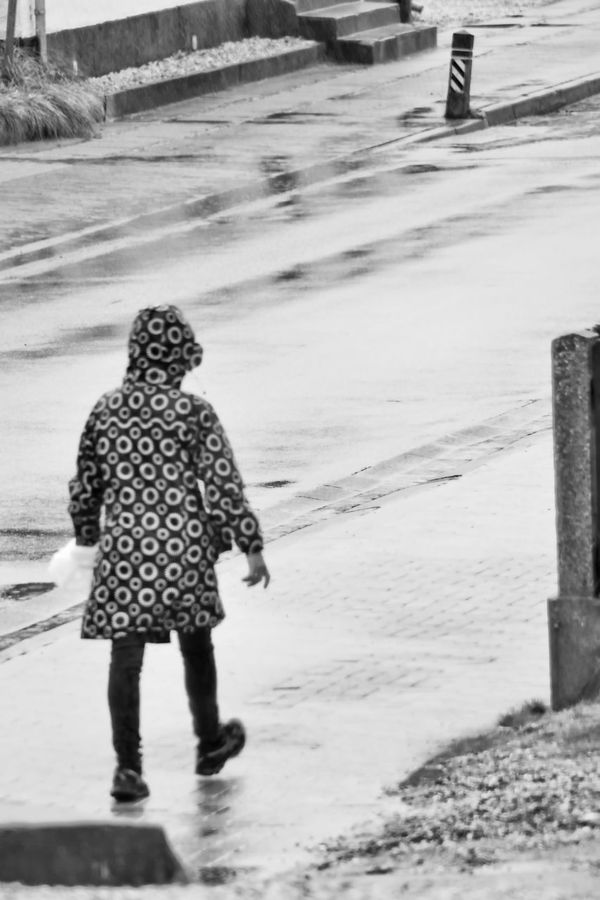 Rainy Day Black & White Black & White Photography Black And White Collection  Bnw Bnw_collection Bw BW Collection Bw_collection Macintosh Mackintosh Monochromatic Monochrome Monochrome Photography People People Photography Rain Raincoat Raining Raining Day Rainy Days Rainy Days☔ Street Photography Woman Working Working In The Rain