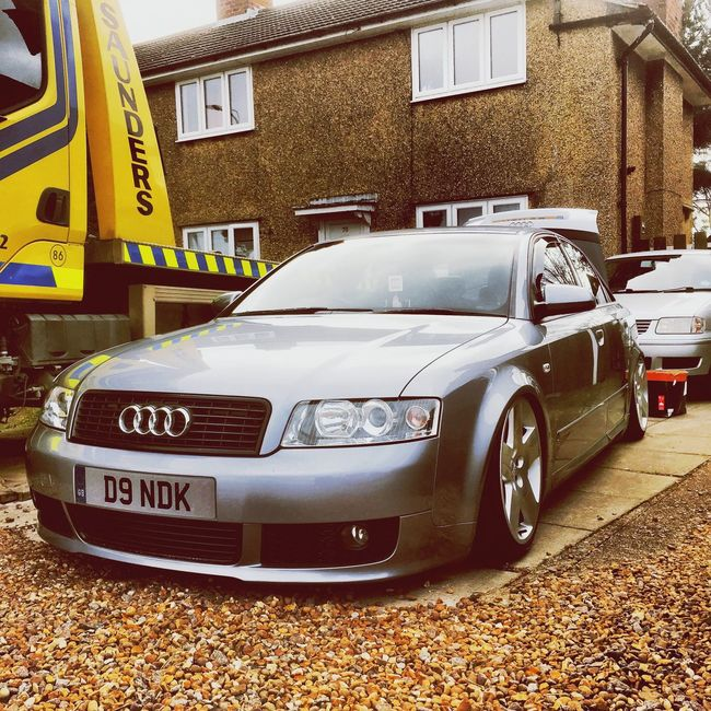 Love this thing Audi Audia4 Baggedaudi Low Airlift First Eyeem Photo