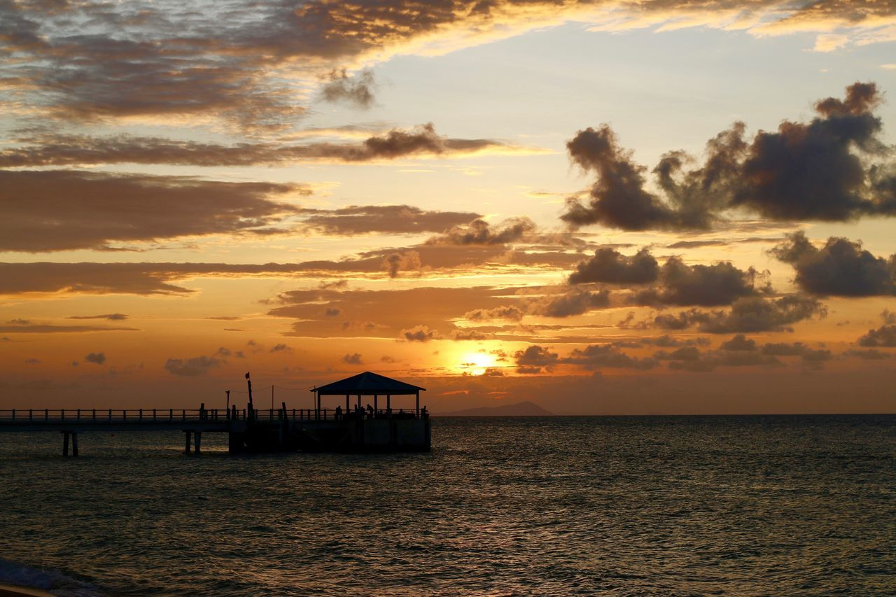 Sunset Of Lyfe Beauty In Nature Beauty In Nature Cloud - Sky Clouds Clouds And Sky Day Idyllic Island Life Islandlife Malaysia Nature No People Outdoors Scenics Sea Sea And Sky Silhouette Silhouettes Sky Sunset Tioman Tranquility Water World EyeEmNewHere