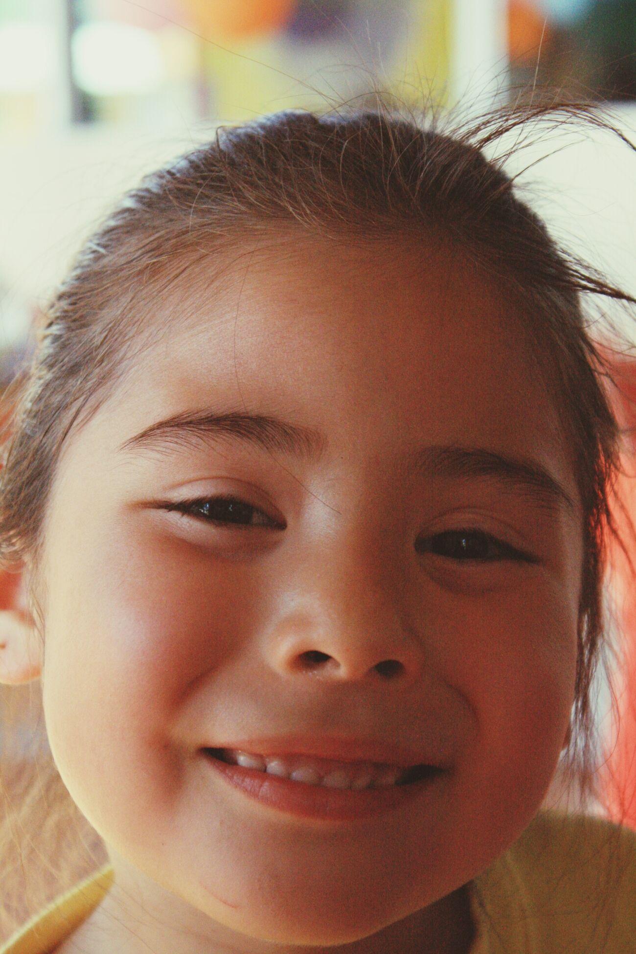 Wonhglück That Smile ! Portrait Kid Kidsportrait Big Smile Birthday Party Girl Girl Portrait