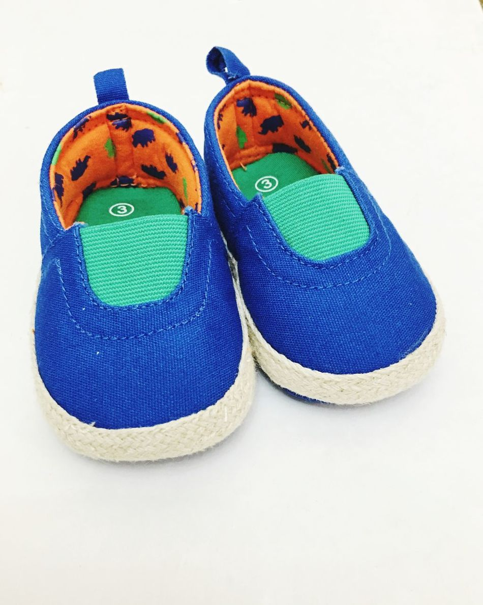 Fashion Accessoires New Borns Baby Shoes Shoes Shoe Pair Of Shoes Twins Blue Summer New Born Baby Shoes! Baby Shoe Baby Boy Baby Newborn New White Background Isolation Isolated