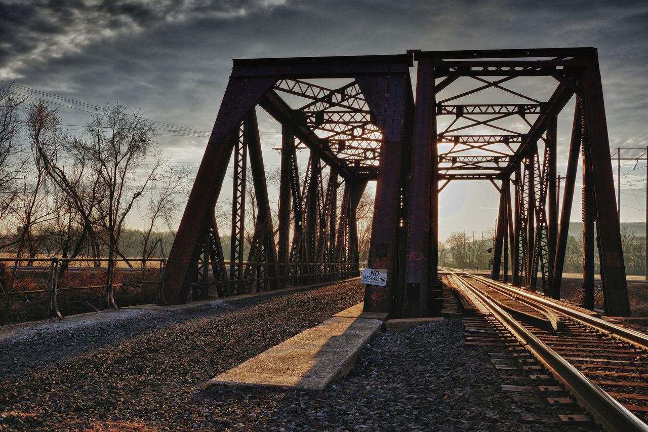 Steel Bridge - Man Made Structure Engineering Steel Steel Factory