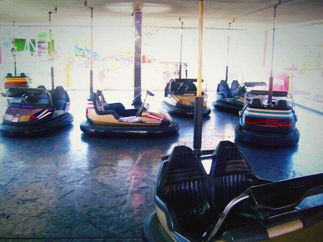 Arizona AZ State Fairgrounds Phoenix, AZ State Fair Rides Carnival Bumper Cars Classic Fun Daytime Way Out West Fall Time