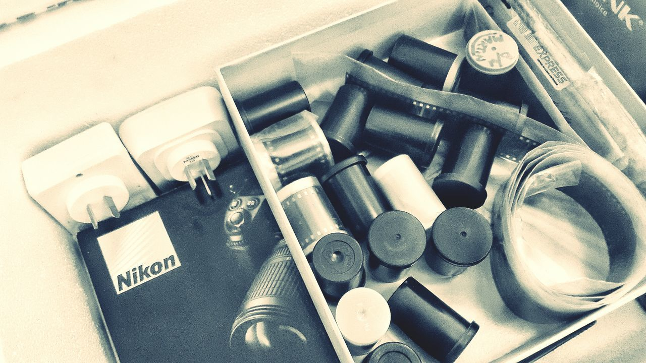 Old Stuff My Gear Old Equipment Nikon Film Camera Film Blackandwhite Blackandwhite Photography EyeEm Best Shots - Black + White