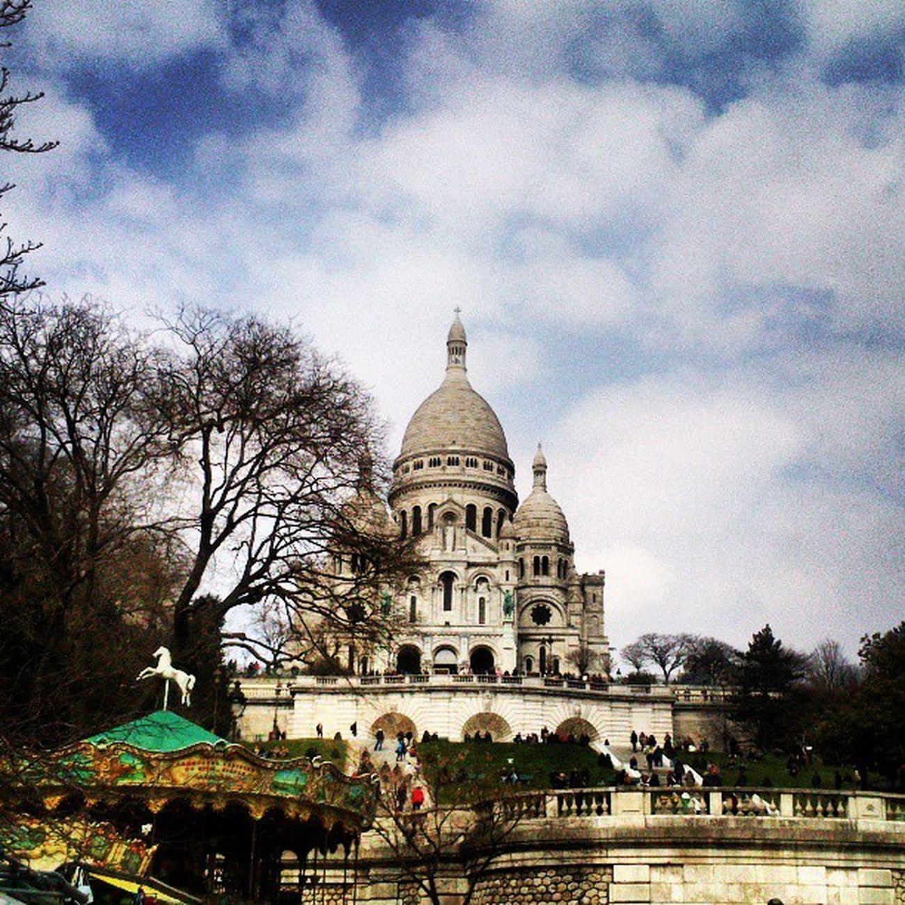 Paris France Montmartre Sacrecoeur