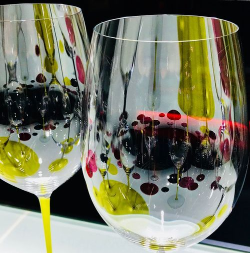 Light play on a glass Refreshment Freshness Drink No People Water Drinking Glass Close-up Wineglass Indoors
