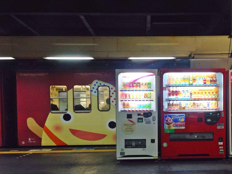 わくまた君😊 Train Train Station Public Transportation Commuting Public Transportation From My Point Of View EyeEmBestEdits Streetphotography Street Photography IPhoneography Station Kanazawa Station Kanazawa-shi Japan 朝より寒い😥明日からまた東京だー🎵