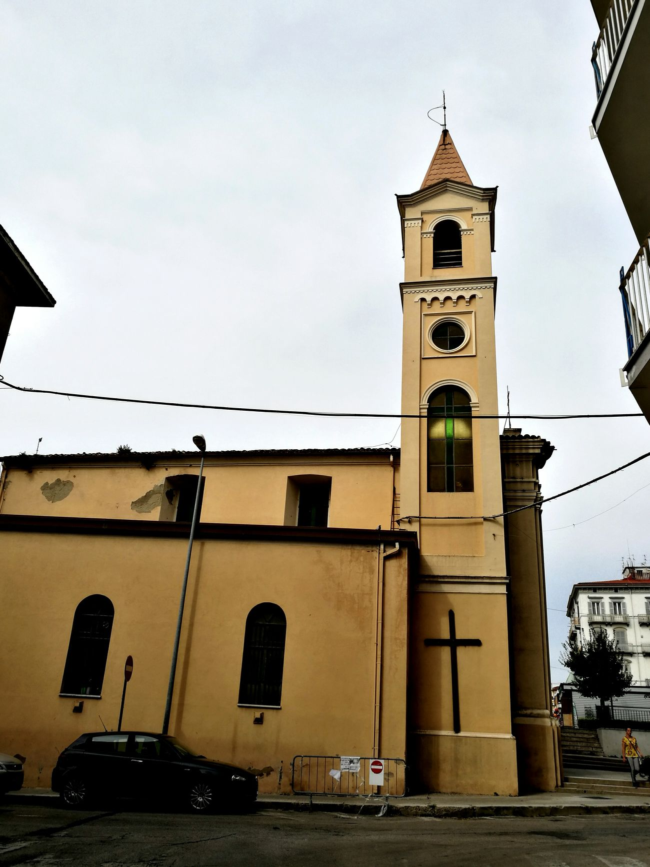 Architecture Bell Tower - Tower Bell Tower Tall - High Tower Streetviewphotography S.Rocco Church
