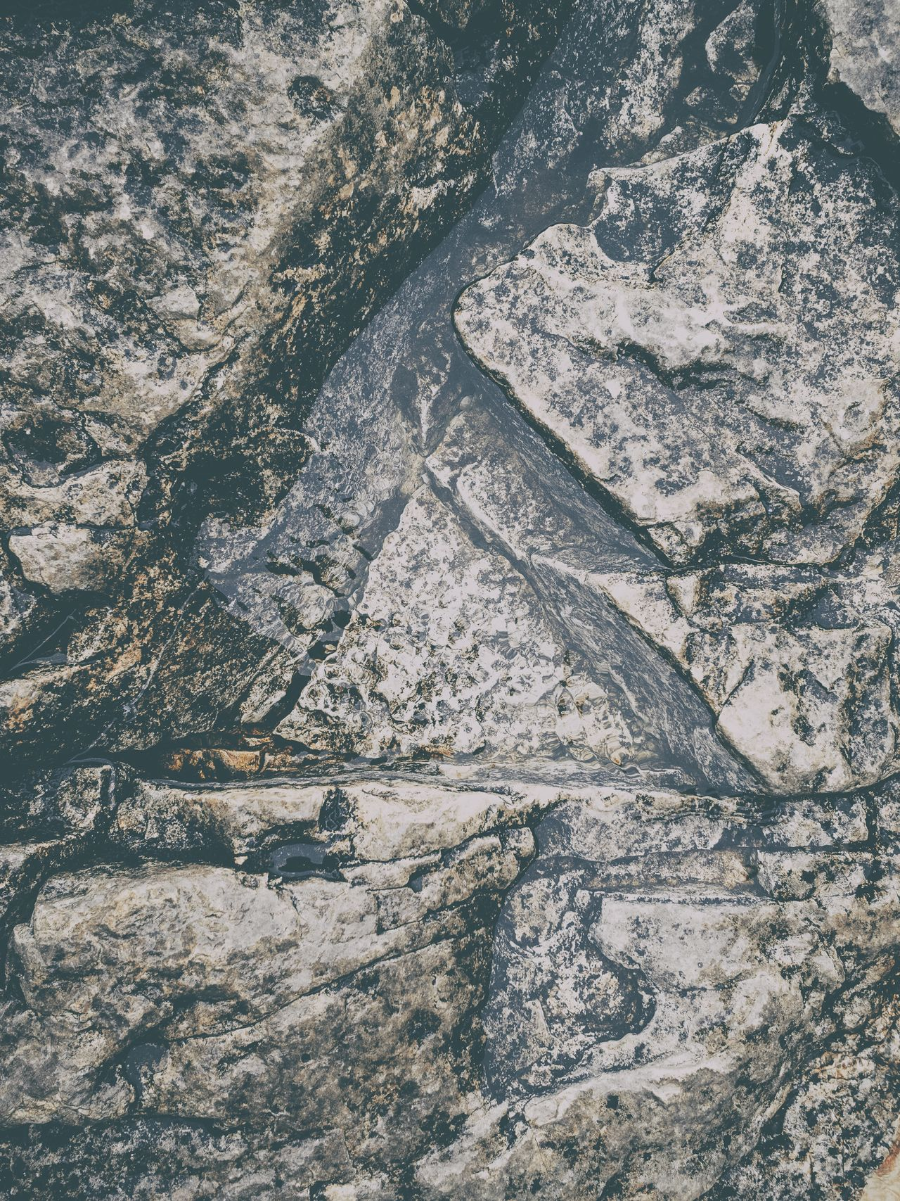 Full Frame Backgrounds Pattern Textured  Close-up Geology Water_collection Clean Clear Pure Water Puddle Tranquility Rock Stone
