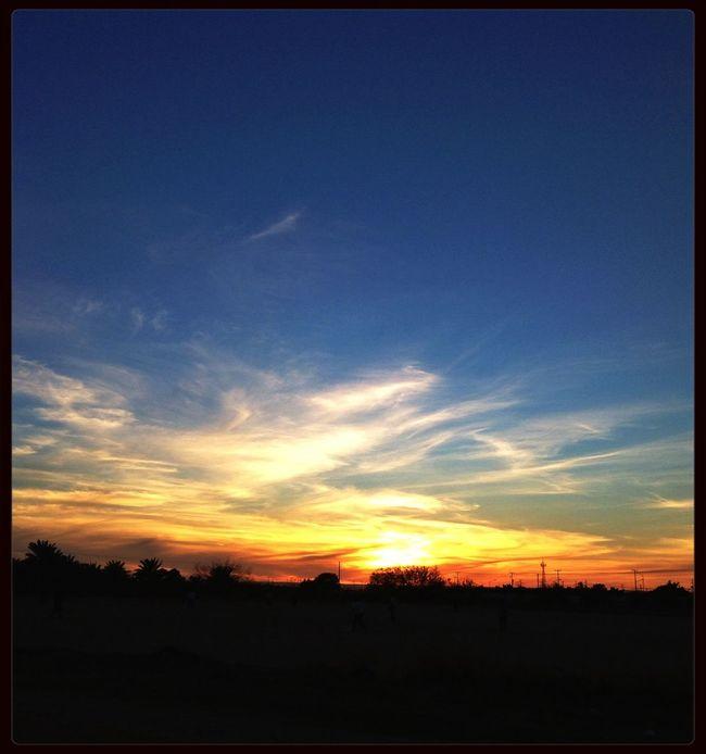 A regular Sunset