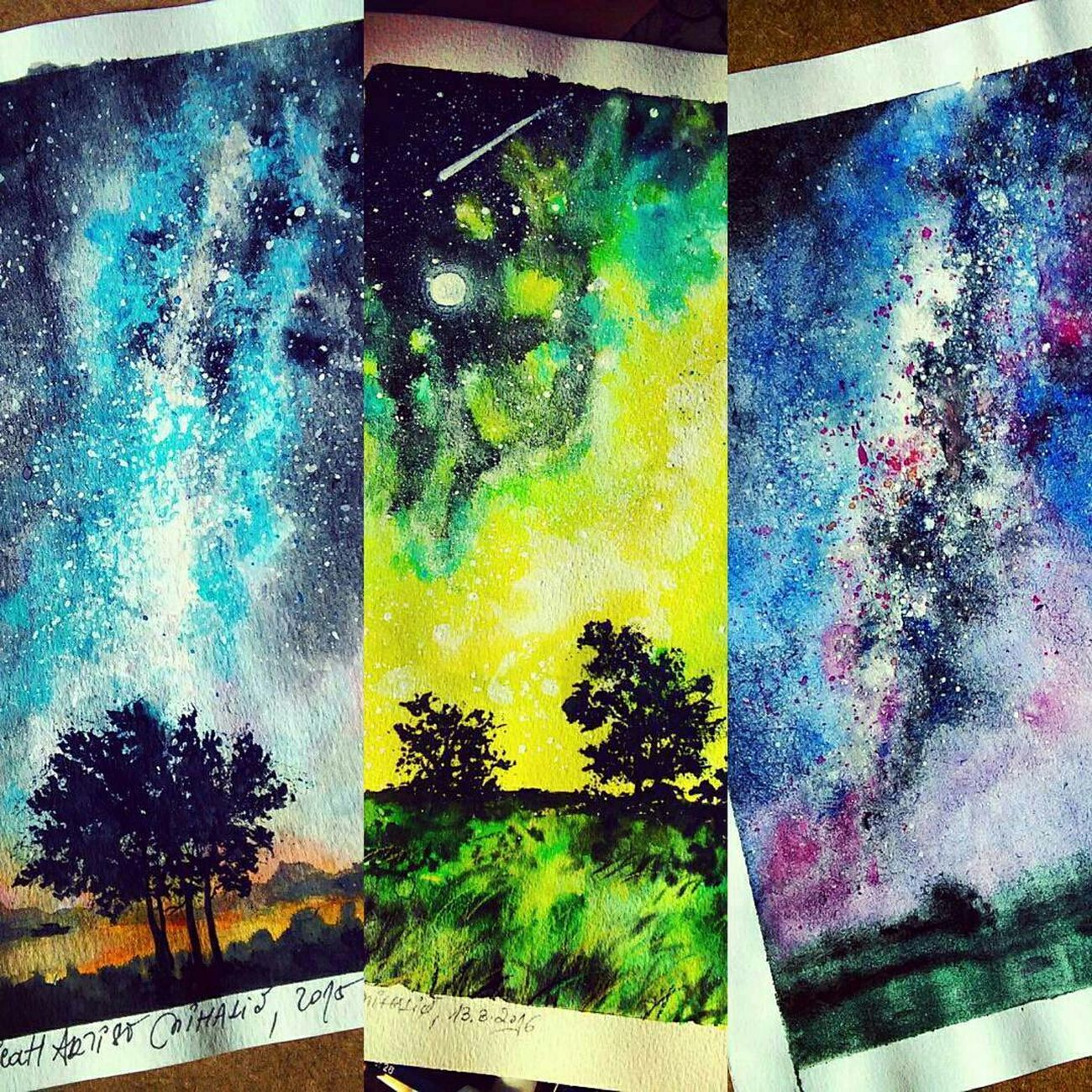 Some of my illustrations from months ago. Nature Landscape Illustration Milky Way Art Arts Arte Check This Out Beautiful Picture Drawing Work ArtWork Creative Design Artist Draw Sketches Sketching Artoftheday Creativity Artistic My Artwork Sketch Explore