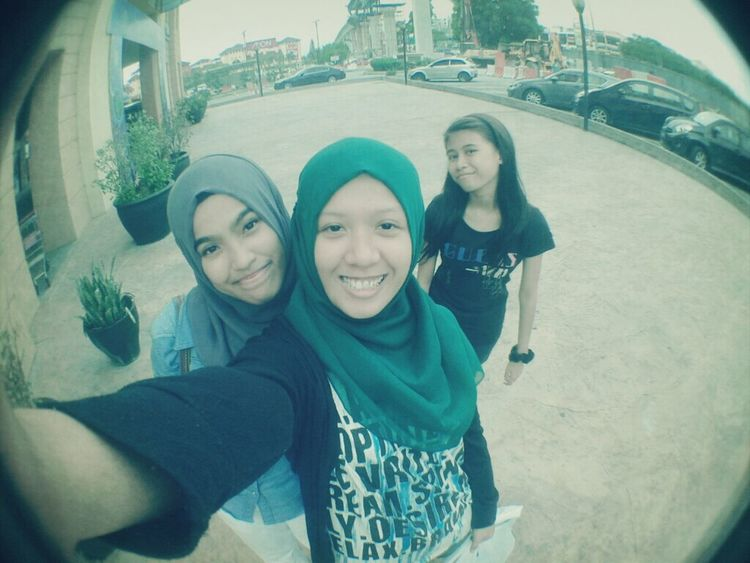 Girls Hijabster Fish Eye Lens Malaysia