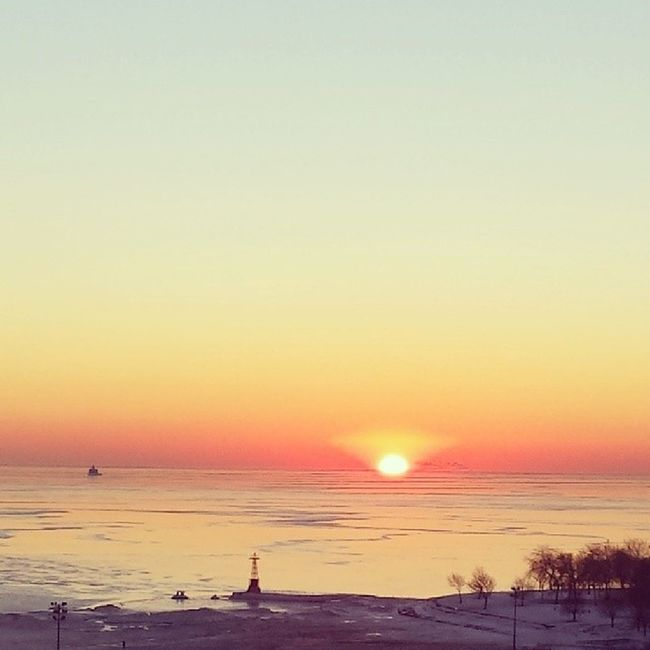 Another gorgeous sunrise. Fosterbeach