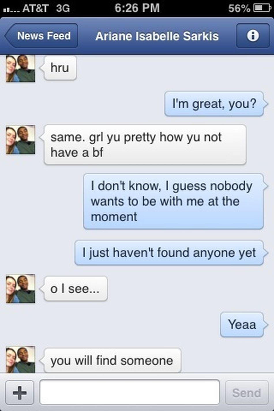 Why Is My Ex's New Girl Talking To Me Right Now? Lol