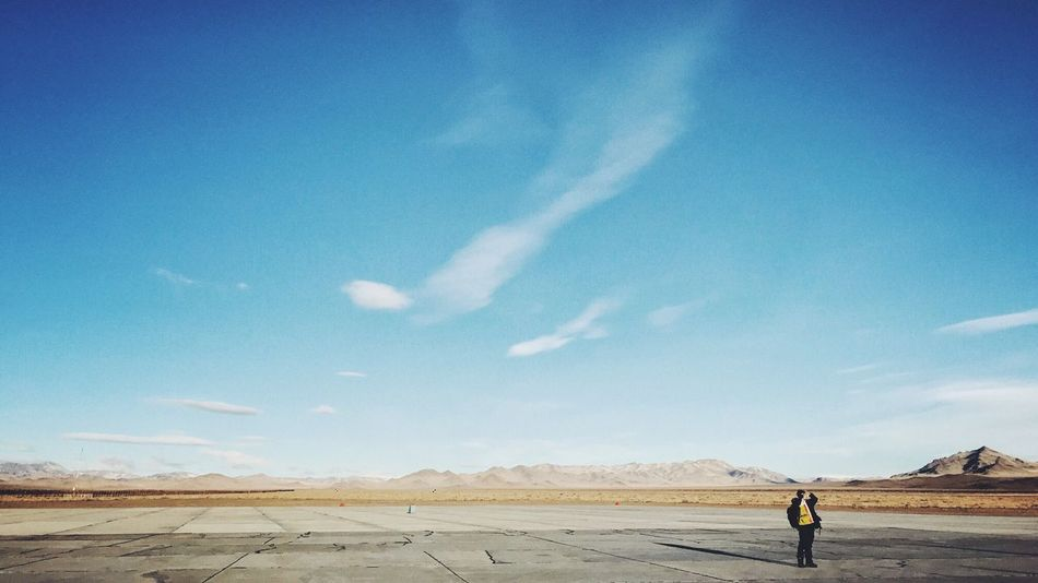 Traveling Home For The Holidays Sky Nature Landscape Scenics Real People Outdoors Full Length Beauty In Nature One Person Men Desert Cloud - Sky Sand Day Arid Climate Photooftheday Relaxation Lifestyles EyeEm Mongolia Travel Beauty In Nature Mountain Airplane