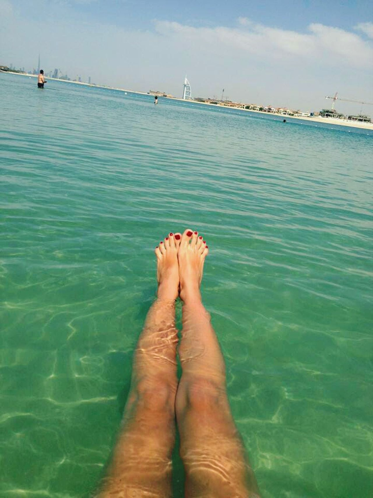 My Legs Feet Holiday Relax Colour Of Life Two Is Better Than One