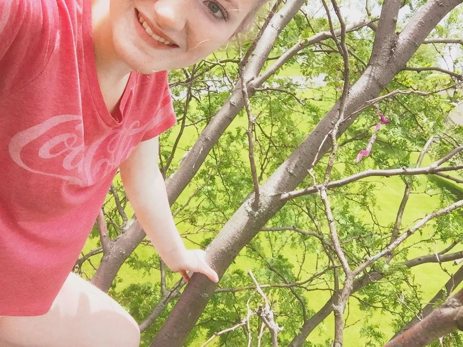 Climbing trees for bio extra credit Finalsweek Trees Rain ♥ Biology