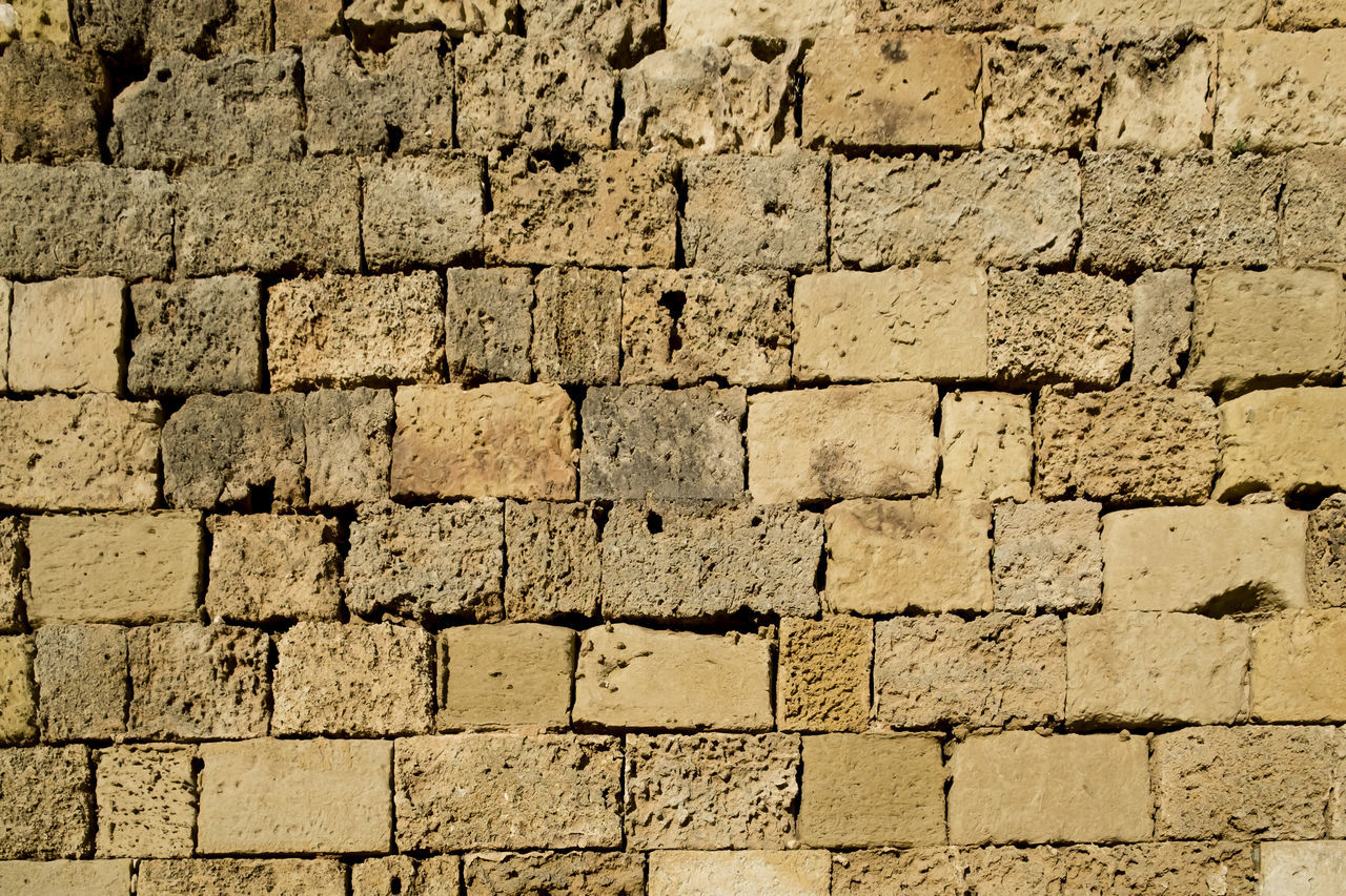 Ancient Ancient Architecture Ancient Ruins Background Backgrounds Brick Brick Wall Day Full Frame No People Outdoors Stone Material Stone Wall Sunlight Textured  Textured  Wall Wall - Building Feature Wallpaper