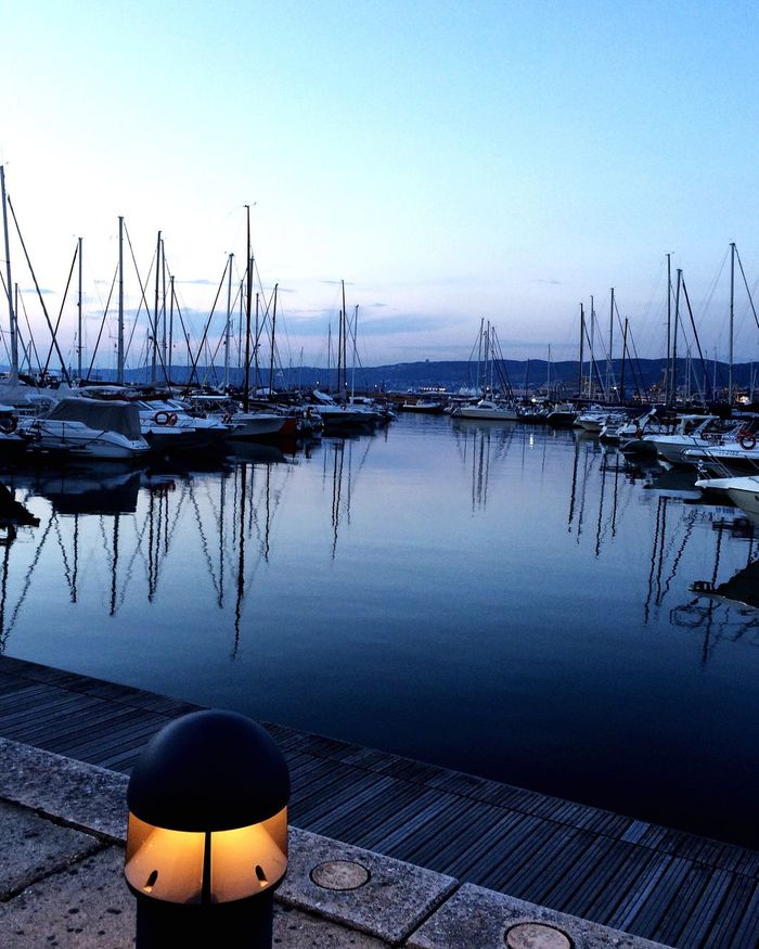 Water Mode Of Transport Tranquil Scene Sea Outdoors Outdoor Photography Landscape Waterfront Seascape Tranquility No People Summertime Calm Marina Sailboat Barcheavela Nautical Nautica Water_collection Water Reflections Porticciolo