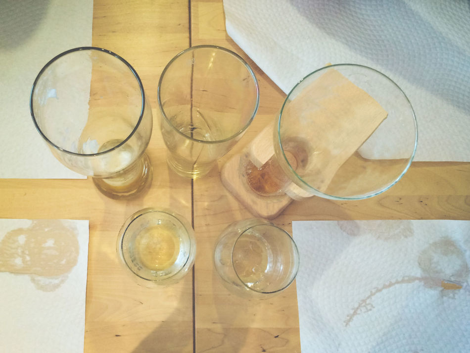 Close-up Day Drinking Glass Freshness Glasses High Angle View Indoors  No People Still Life Table