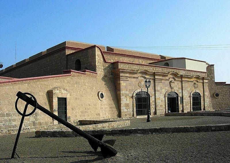 Casa del Gobernador en el Real Felipe - Governor's House in Real Felipe Fortress El Callao Lima Architecture