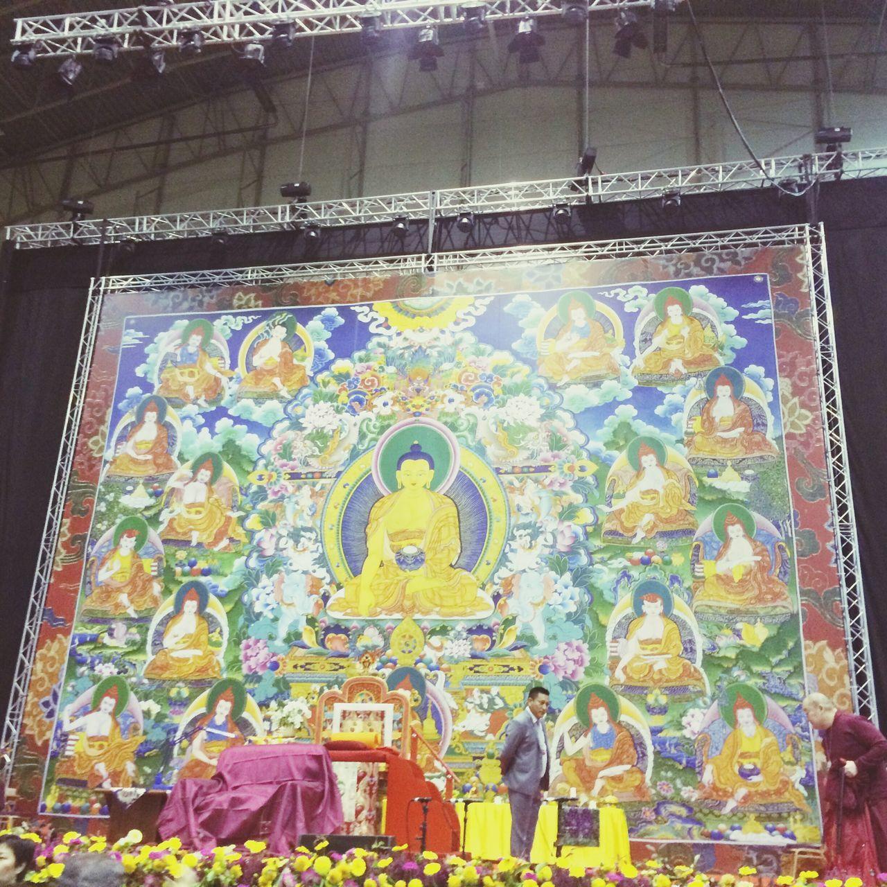 Dalai Lama soon to appear. Buddhist Buddhist Monks Latvija Freetibet Freetibetnow Riga The City Light