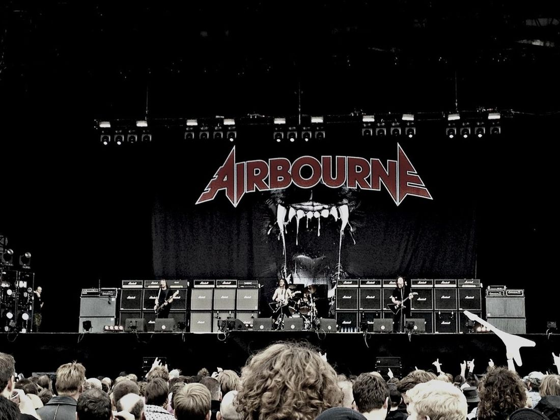 Enjoying Life Live Music FortaRock XL 2013 Airbourne