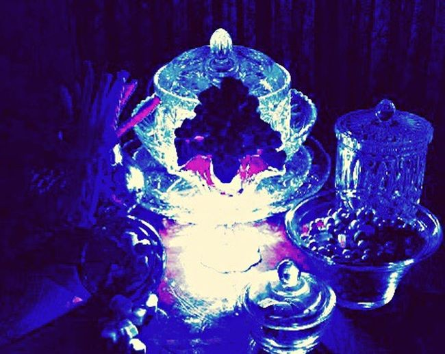 Black Light Effects Lead Crystal & Dark Room Single High Intensity Light Filtered Through layered crystal Casting Shadows Everything Is Illuminated Being Creative with Candy and Sweets My Unique Style Vibrant Looking At Things Differently Color Explosion Celebrate Individuality Experimenting... Thinking Outside The Box! Nightphotography EyeEm Best Shots Something Different This Week On Eyeem The Innovator