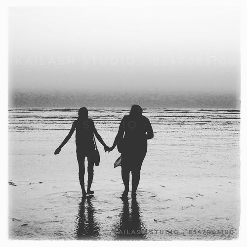Friend's Walk Two People Togetherness Beach Sea Real People Vacations Outdoors Girls The Week Of Eyeem Week On Eyeem Eyeemphotography Only Women Young Women Photography Women Beautiful Woman Eye4photography  Friendship Welcome To Black