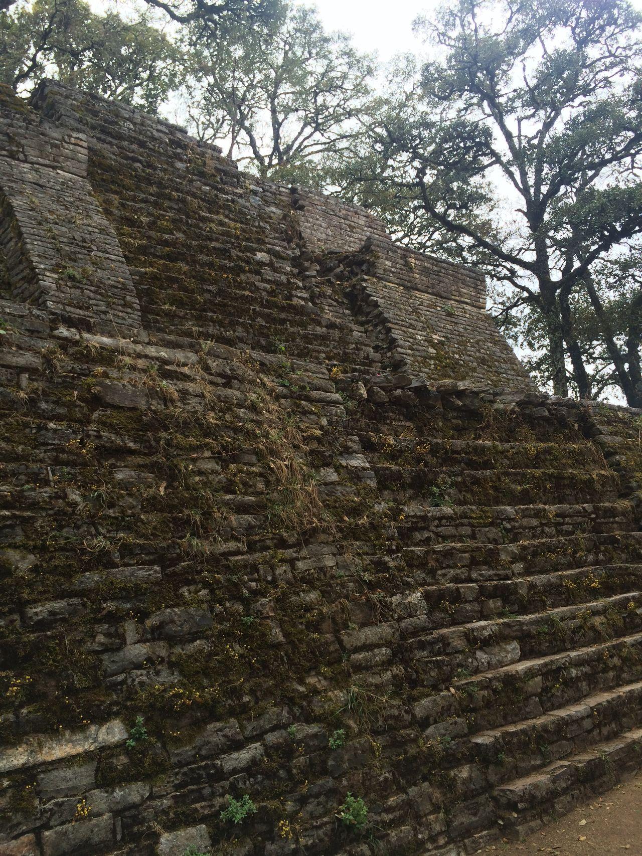 Ancient Civilization Ruins Sierra Gorda, Queretaro Pyramid Ruins Architecture