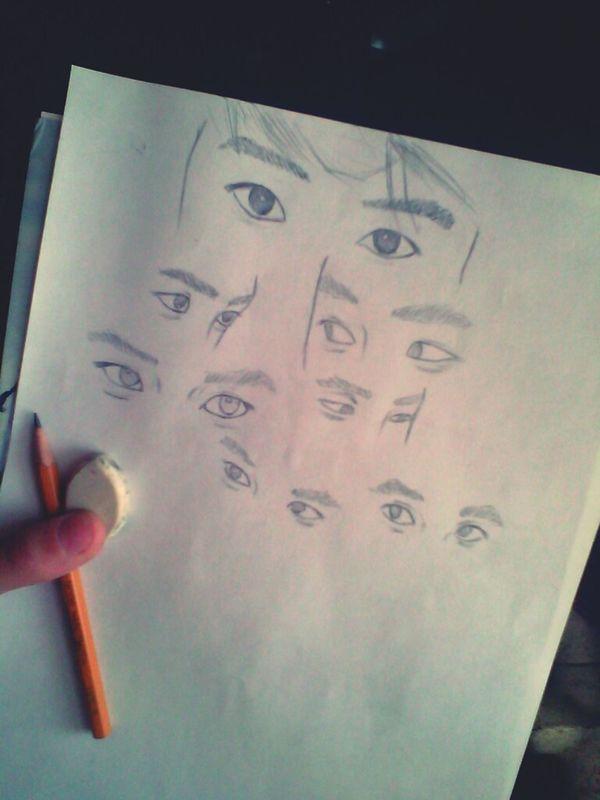 Art Drawing Exo_k Kyungsoo Do