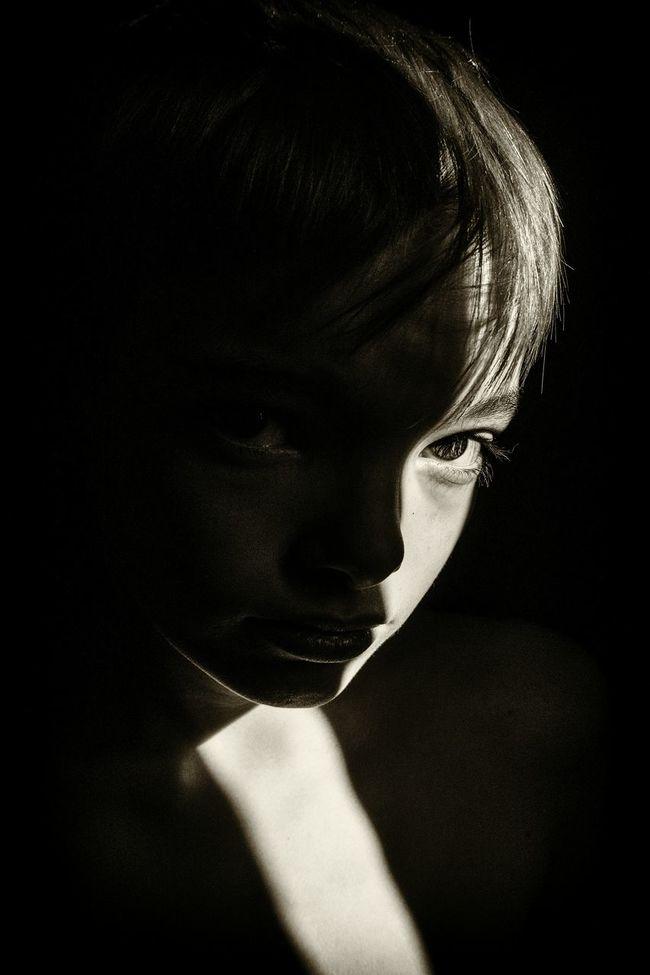 Anakin light... Shadows & Lights EyeEm Best Shots - People + Portrait PortraitPhotography Light And Shadow Portrait Children's Portraits EyeEm Best Shots - Black + White Portrait Photography